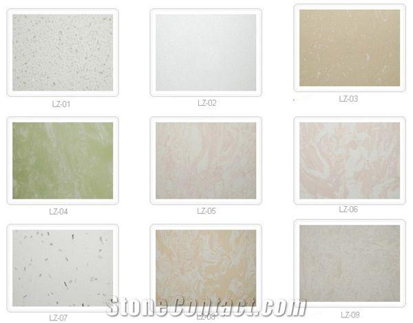 Artifical Marble Tile Artificial Limestone Manmade Stone Sample Tiles