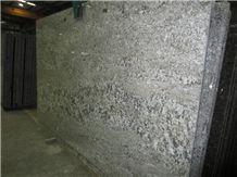 Aspen White Granite Slab, Brazil White Granite