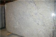 Bianco Romano Granite Slab, Brazil White Granite