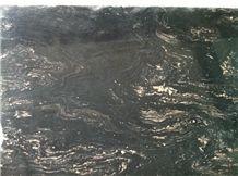 Porto Rosa Quartzite Slab, Brazil Black Quartzite