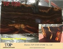 Translucent Multicolor Red Onyx Wall Tiles