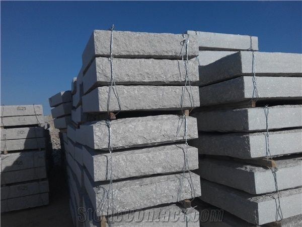 Dimension Stone Block, Stone Block Cutting, G375 Grey