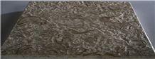 Mini-Abalone Sea Shellstone Beige and Green Slabs & Tiles, Abalone Shellstone Beige Limestone Tiles