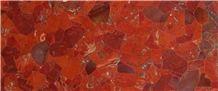 Semi-Precious Jasper Slab, Tile, Basins, and Decor