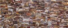 Semi-Precious Petrified Wood Slabs, Tile and Decor