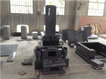 G654 Granite Tombstone & China Impala Monument,China Black Granite Gravestone & Headstone for Janpanese & Korean Market