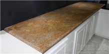 African Gold India Granite Countertops, Yellow Granite Kitchen Countertops