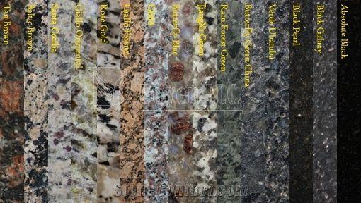 African Gold India Granite Countertops Yellow Granite