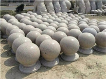 G361 Parking Stone Ball, Parking Stone Pillar