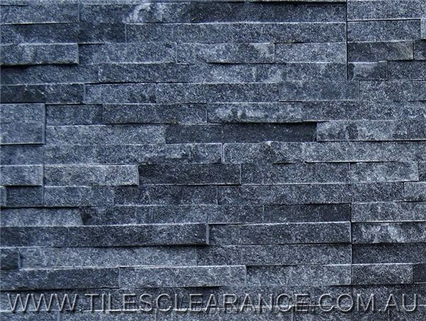 Crystal Gray Stack Stone Stone Wall Cladding From
