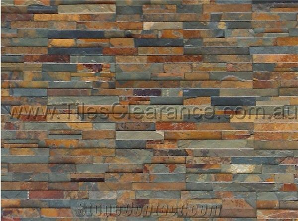 Rustic Slate Stack Stone From Australia Stonecontact Com