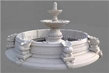 Marble Sculptured Fountain,White Marble Fountains