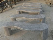 Fargo Grey Granite/G603 Polished Bench Garden Bench Outdoor Bench Park Benches Extrior Furniture