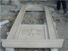 Beige Marble Window Surround in Custom Size