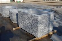 Granite Trough for Water Grey Granite Fountain Simple Design