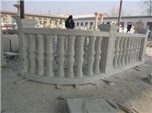 Marble Balustrade Handrail, White Marble Handrail