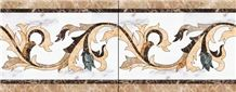 Water Jet Marble Border