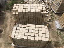 Yellow Granite Cubes High Quality and Low Price, Yellow Granite Cube Stone & Pavers