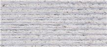Azul Atlantico Limestone Natural Cleft and Grooved Tiles, Grey Portugal Limestone Wall Covering