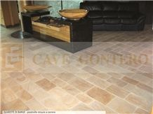 Quartzite Di Barge - Gialla Di Barge Quartzite Floor Tiles