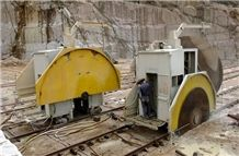 Granite Quarry Block Cutter