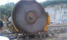Granite Stone Quarrying Machine