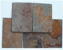 Multicolor Roof Tiles Ir03, China Multicolor Slate Roof Tiles