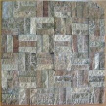 Natural Stone Mosaic,Split Surface Mosaic Tiles