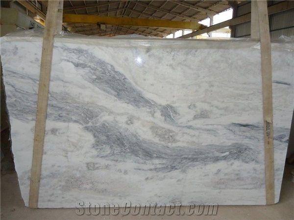 Marble Mont Blanc Slabs Tiles Brazil White Marble