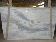 Marble Mont Blanc Slabs & Tiles, Brazil White Marble
