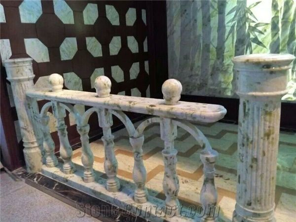 Green Marble Handrail , Slap-Up Decoration Stone,China Fancy ...
