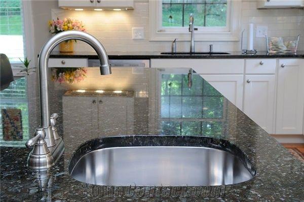 Labrador Blue Pearl Granite Kitchen Countertop From
