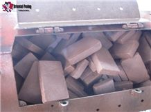 China Red Sandstone,Cube Sandstone,Paving Sets,Landscaping Stone for Floor Coving