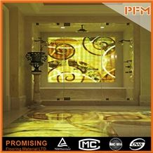 Honey Onyx Tiger Onyx Elegant Waterjet Inlay Medallions//Patterns/Border/Customized/New Design/Best Quality/Floor Covering/Interior Decoration/