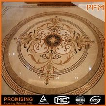 Multicolors Grade a Marble Materials Polished Surface Marble Inlay Marble Pattern Marble Tiles