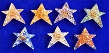 Orgone 5 Star Chakra Set Orgonite Chakra 5 Star Set Chakra Wholesale Sets