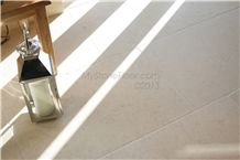 Chaucer Cream Tumbled Floor Tiles-Exclusive Light Jerusalem Tumbled Limestone
