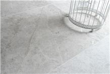 Smoked Silver Limestone Honed- Polished Wall and Floor Tiles