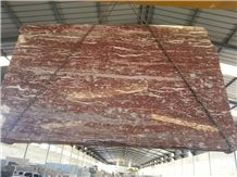 Red Ice Marble Slabs