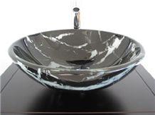 Marble Wash Basin, Vessel Sink,Rock Sink
