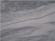 Cloud Grey Marble, Snow White Marble Slabs
