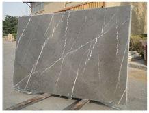 Antique Grey Marble Tiles & Slab, Grey Iran Marble