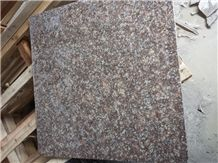 China Brown Red Granite G687 Peach Blossom Red,Red Peach ,Wall & Floor Covering,Tiles, Cut to Size,Polished Surface