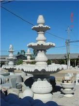 Customized Landscape Stone Water Fountain Garden Water Fountain, Natural Stone Fountain