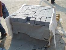 G654 Mid Grey Granite Cube Stone & Pavers