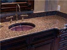 Giallo Antico Granite Bathroom Vanity Top