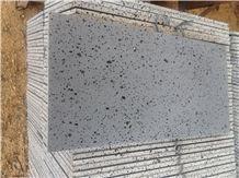 Chinese Grey Basalt Honed Tiles,Hainan Grey Basalt Floor Tiles,Grey Basalt,Lava Stone ,Basaltina,Basalto,Inca Grey,Walling & Flooring Cladding Honed Slabs & Tiles