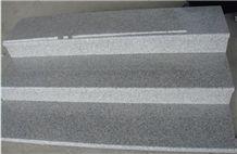 G603 Granite Stairs & Steps, China Grey Granite Staircase