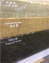 Onyx Marble Granite Countertop Lemon Green Juparana Dourado Tropical Green
