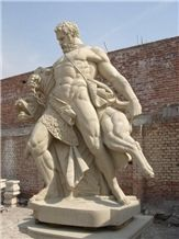 Roman Figure Statues,Hand-Craved Stone,Square Sculpture & Statue, the Representative Of Justice